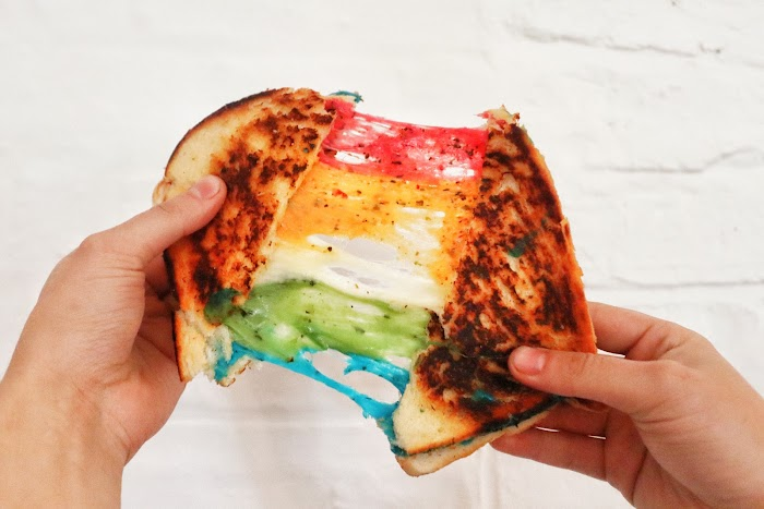 Rainbow Toasties